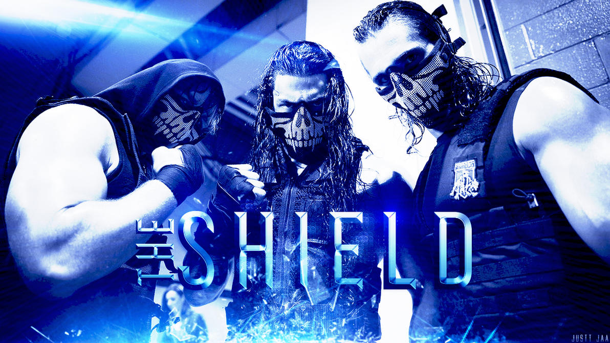 WWE ''The Shield'' - Wallpaper 2014 |Full HD| by JusttJaa on