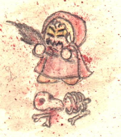 Blodluvan tuggar vargen 1 by Morgis