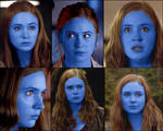 The many blueberry faces of Amy Pond