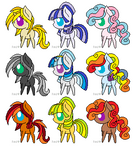 Pony Adopts- 2 points each (OPEN)