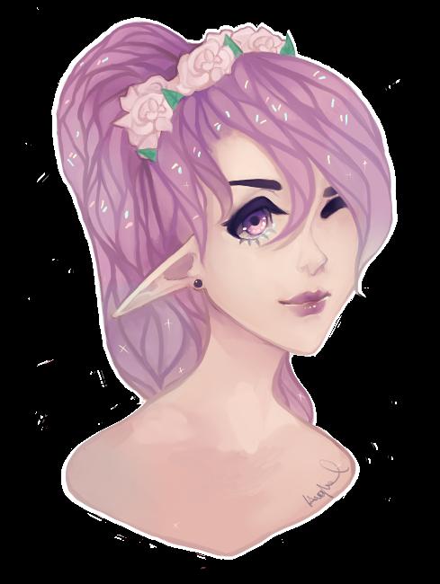 Sweet candy fairy by PIUPie