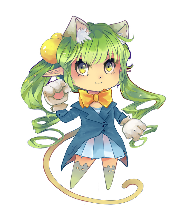 Magician cat by PIUPie