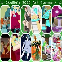 .:Skullie's 2020 Art Summary:.