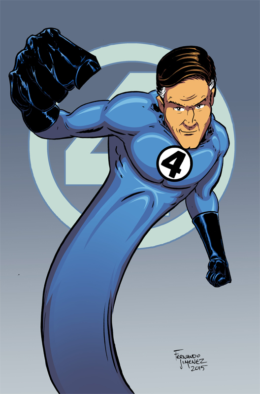 MR. Fantastic by culdesackidz