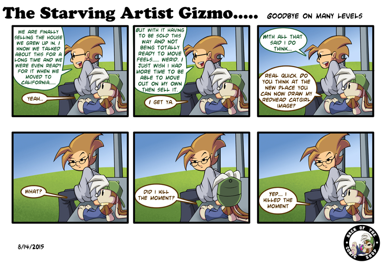 The Starving Artist Gizmo: C3 61 by culdesackidz