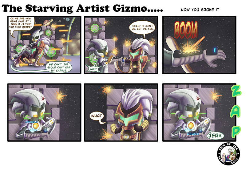 The Starving Artist Gizmo: C4 71