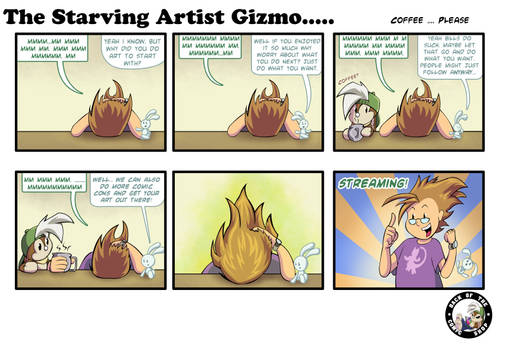 The Starving Artist Gizmo: C5  86