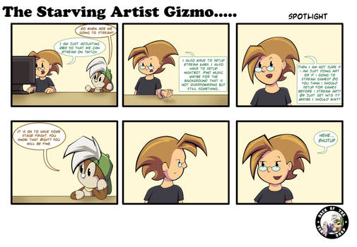 The Starving Artist Gizmo: C5 88