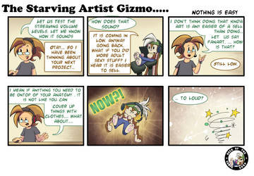 The Starving Artist Gizmo: C5 89 by culdesackidz