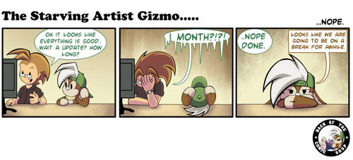 The Starving Artist Gizmo: C5 90 by culdesackidz
