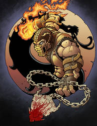 Aet Streaming: Scorpion MK coloring by culdesackidz