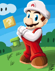 Happy Mario Day! by culdesackidz