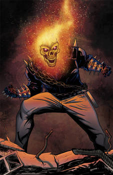 Colorist: Ghost Rider