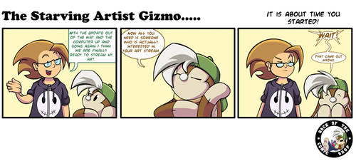 The Starving Artist Gizmo: C6 91