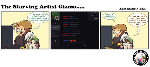 The Starving Artist Gizmo: C6 92
