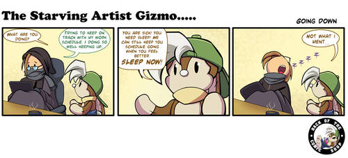 The Starving Artist Gizmo: C6 99