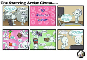 The Starving Artist Gizmo: C6 104
