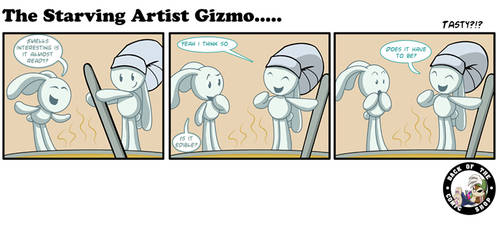 The Starving Artist Gizmo: C6 105