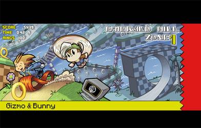 Gizmo and Bunny in Emerald Zone?