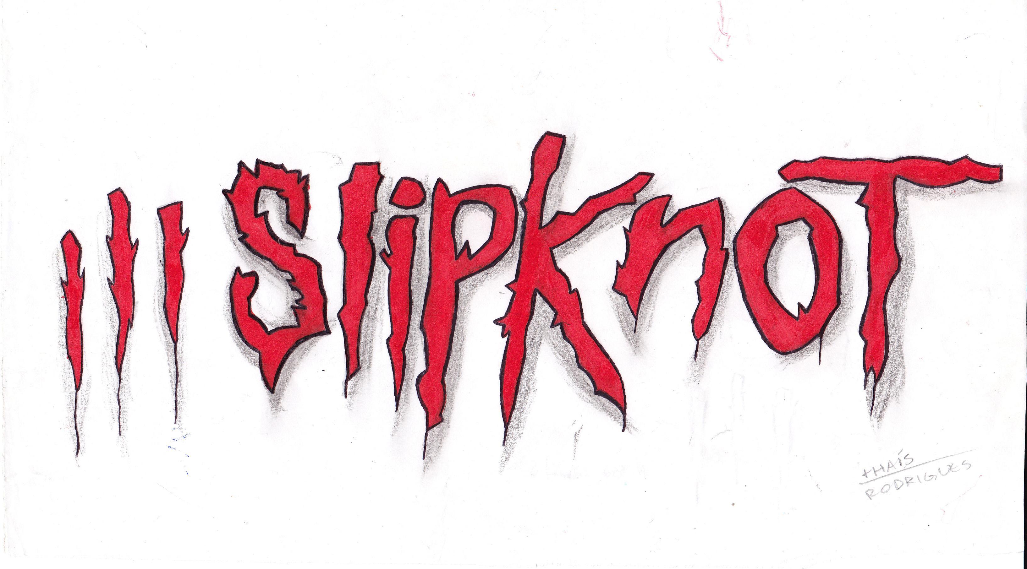 red slipknot symbol