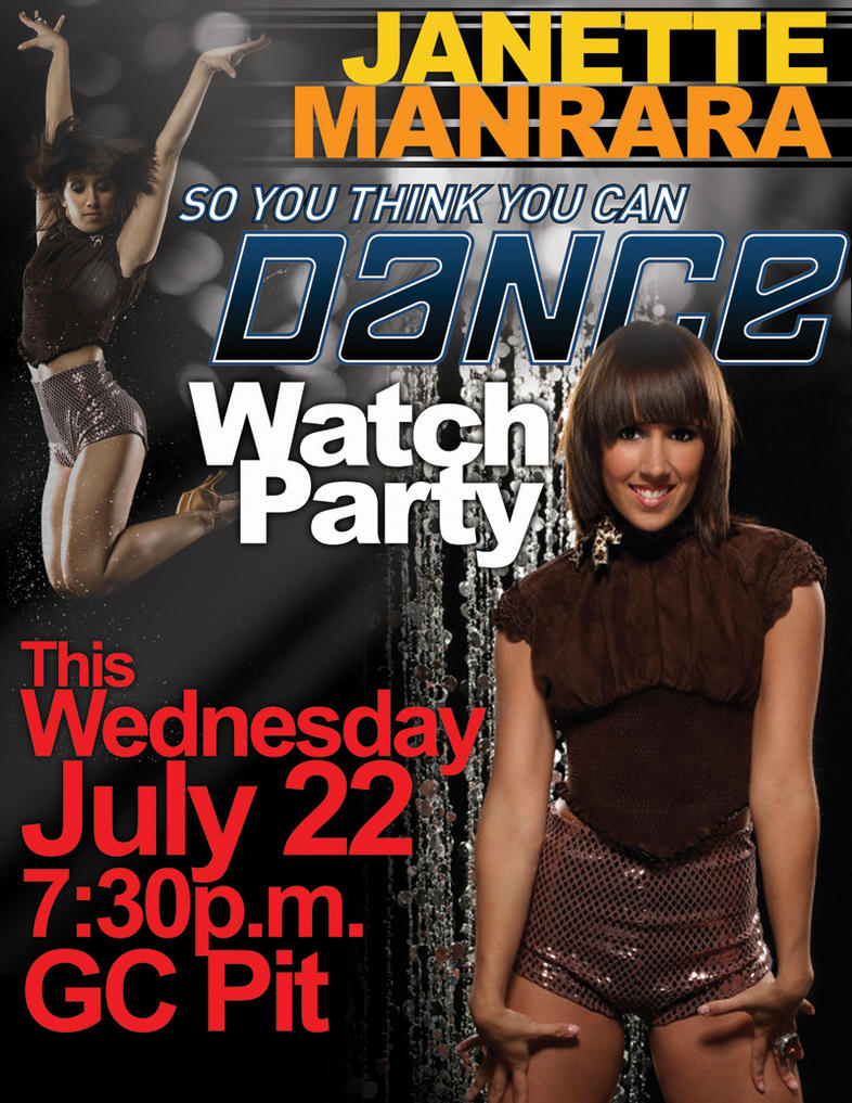 Janette Manrara Watch Party by Captive-Elements