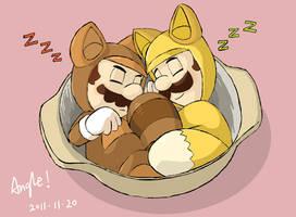 TANUKI and FOX