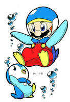 Penguin Mario by Angle-007