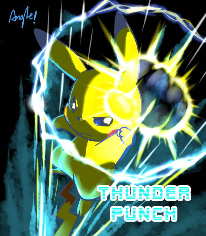 Thunder Punch by Angle-007