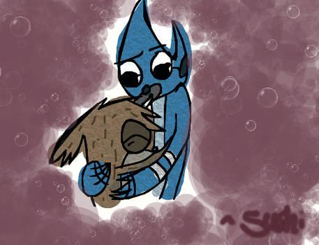 Rigby Would Never Hug Me