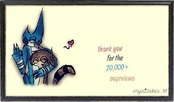 Thanks for 20k