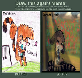 Before and After Meme: .:My Mordecai:.