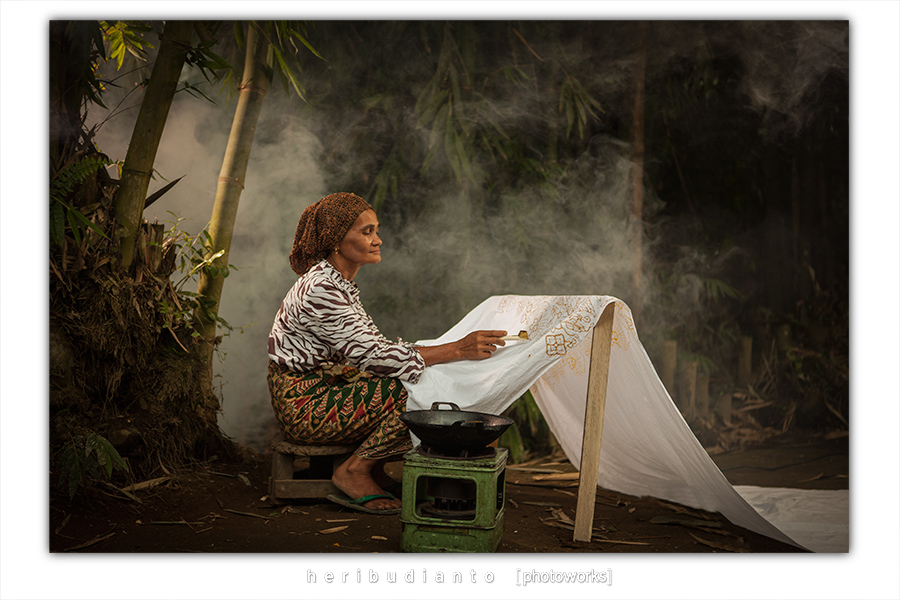 Batik Painting by heribudianto