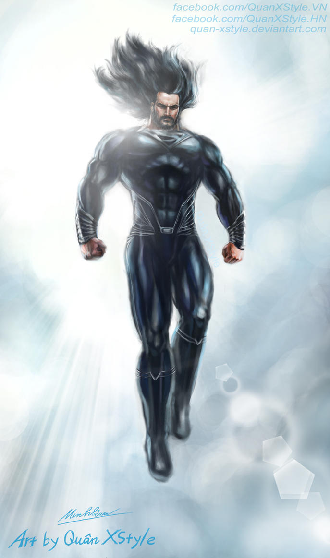 Superman Reborn by Quan-Xstyle
