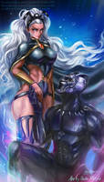 Black Panther: Love Story by Quan-Xstyle