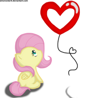 Chibi Fluttershy by Leslers