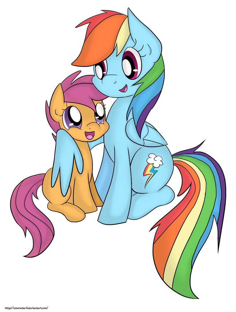 Are Rainbow Dash And Scootaloo Sisters Everypony Scootaloo and rainbow dash graphics. everypony