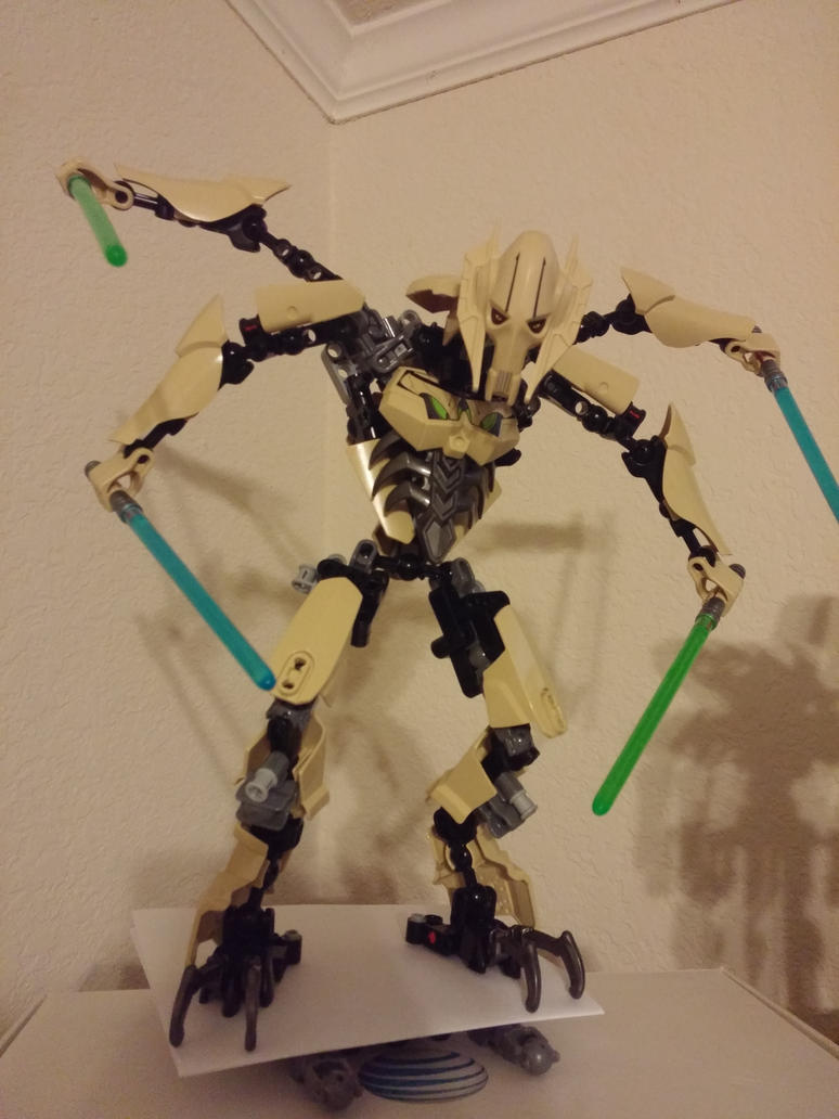 Lego General Grievous set redesign by JointedLemon845 on ...