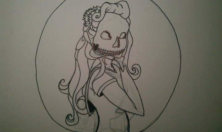 zombie pinup by megan-bricen