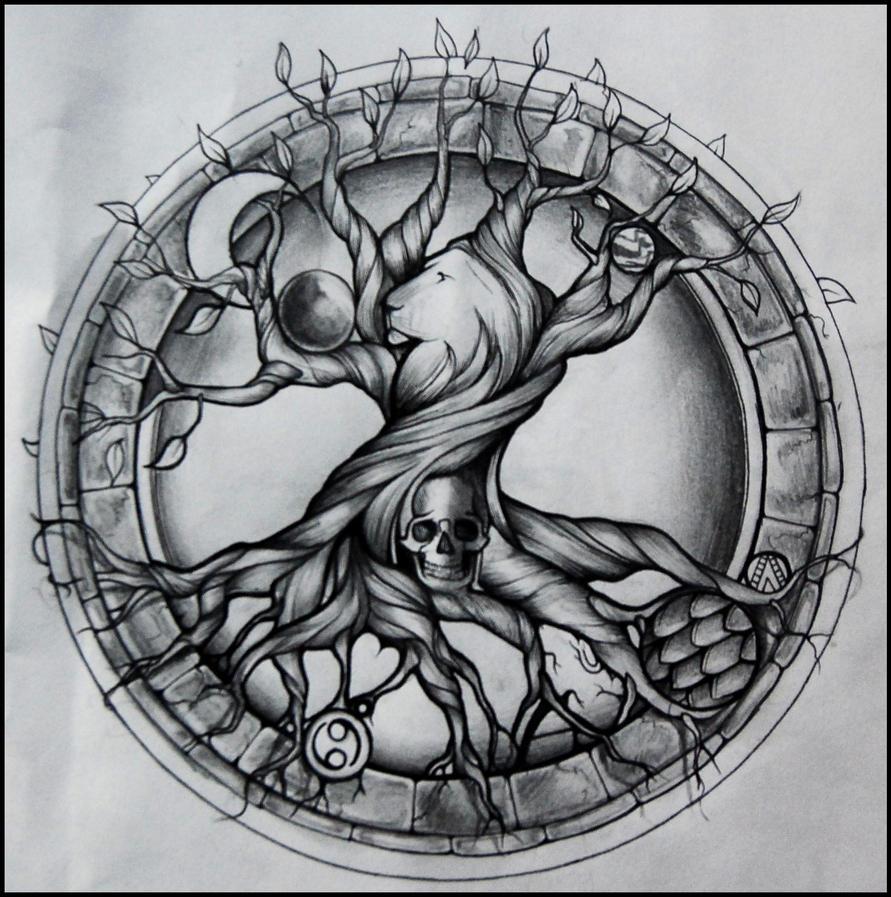 Tree Of Life Tattoo By Aluc23 On DeviantArt