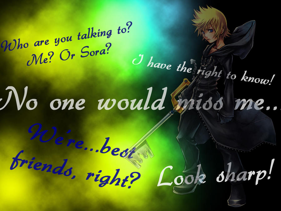 Roxas Wallpaper By Taylor303 On DeviantArt