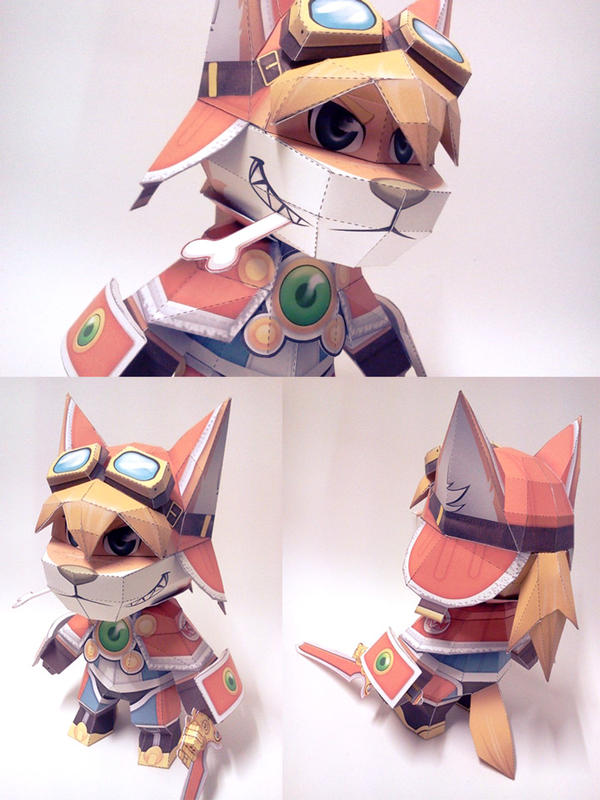 Solatorobo Red the Hunter Papercraft