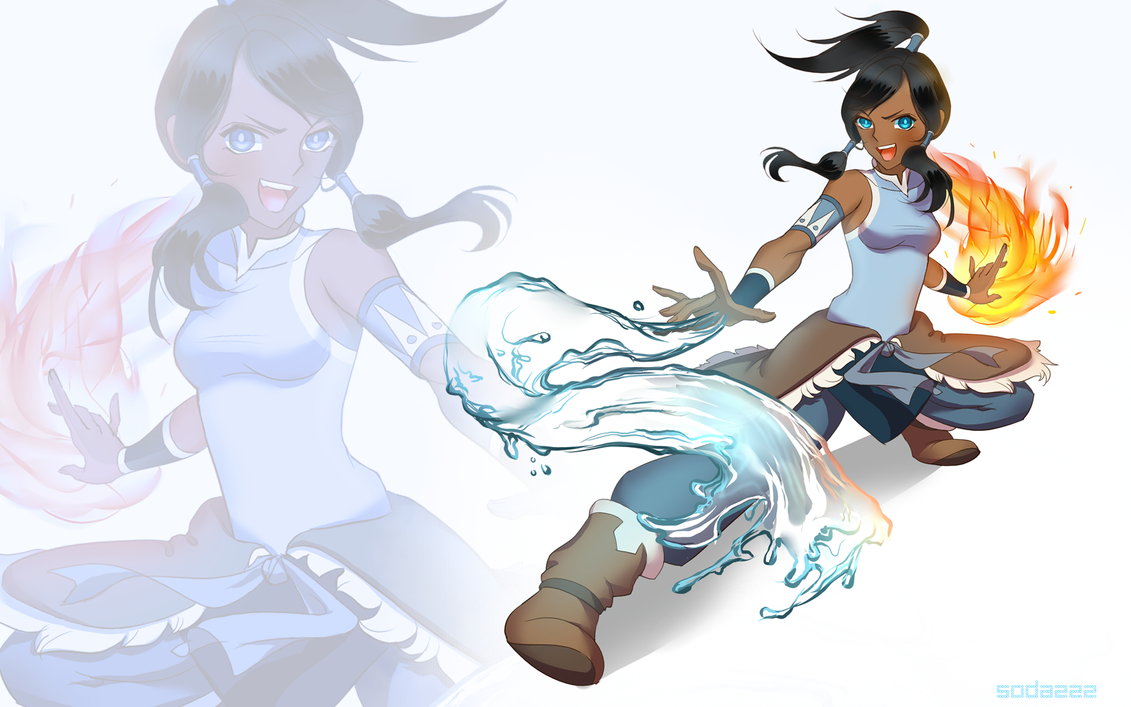 legend of korra by soda222