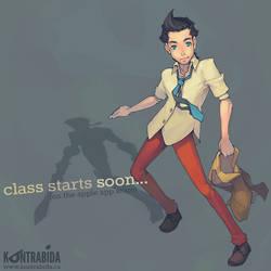 class starts soon...