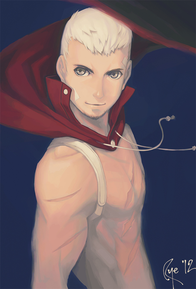 Akihiko in Mayonaka Arena by tsubibo
