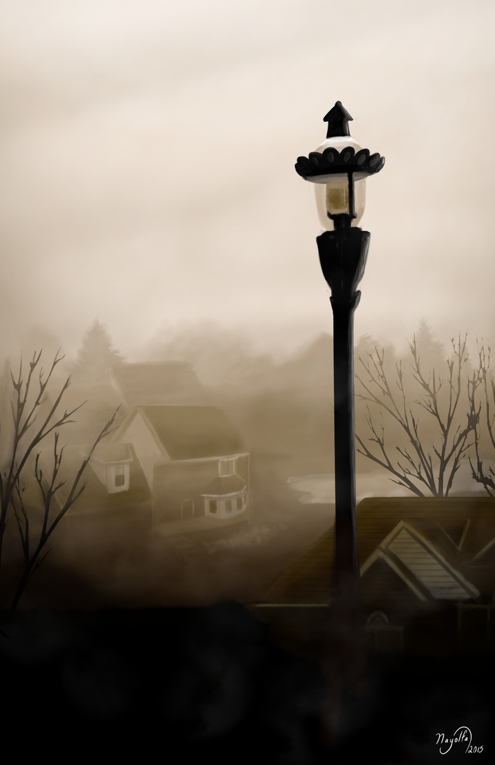 Misty Morning by Nayolfa