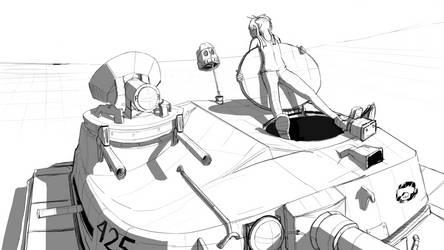 Tank Chillin by Nayolfa