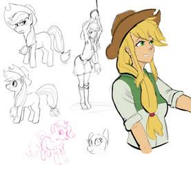 whos a silly (human) pony? by Nayolfa