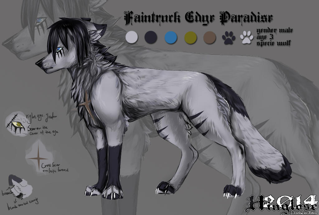 Faintrock Edge Paradise -character sheet by Hinglose