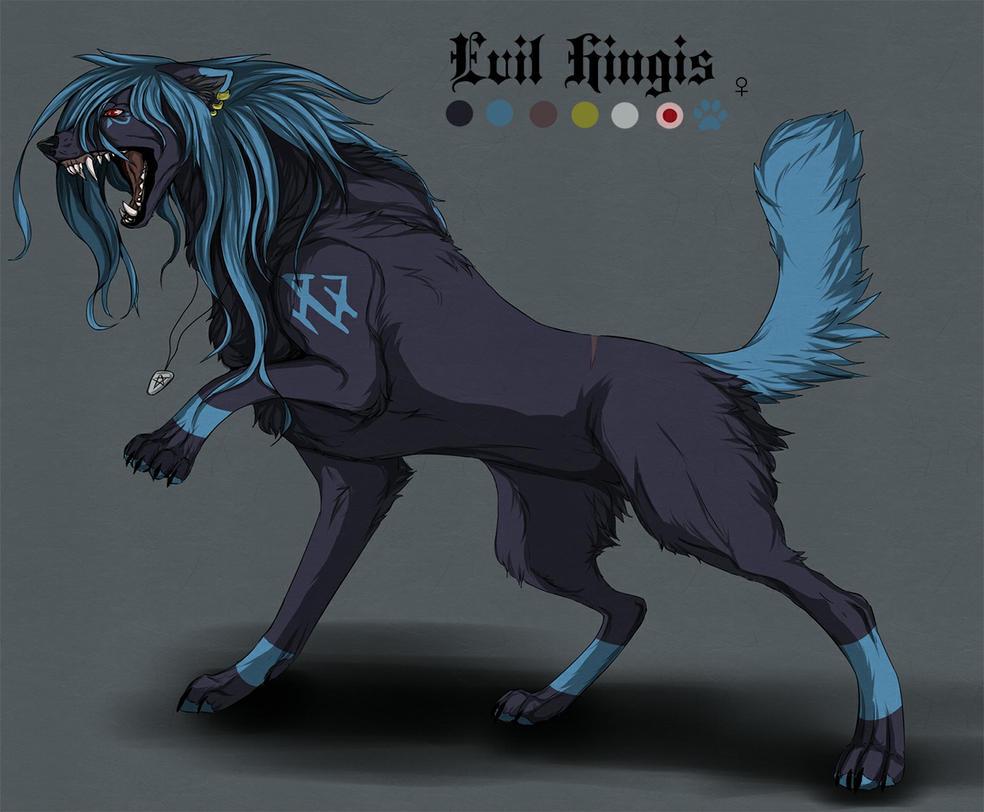 Evil Hingis character sheet by Hinglose