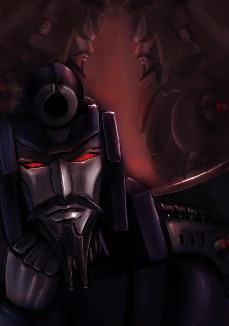 [Pro Art et Fan Art] Artistes à découvrir: Séries Animé Transformers, Films Transformers et non TF - Page 6 Scourge_by_naihaan-d4dhp87